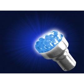 AMPOLLETA RACIMO 12V, 12 LED, (1C/PP), AZUL