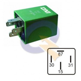 RELAY 12V 4T,BOMBA COMBUSTIBLE, FORD,VOLKSWAGEN