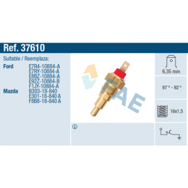 TERMOSWITCH FORD,MAZDA 323/626/929, 97º-82º