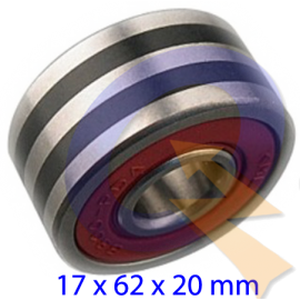 RODAMIENTO  B17-127D, MERCEDES BENZ, SCANIA