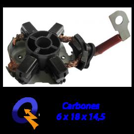 PORTA CARBON ARRANQUE BOSCH 24V,FORD CARGO,CUMMINS