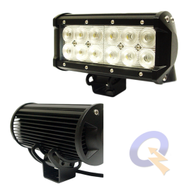 FAENERO RECTANGULAR 6.5',12-24V,12 LED, 36W,2520Lm