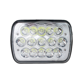 FAROL RECTANGULAR GRANDE,9-30V,5 LED,2500Lm,6052