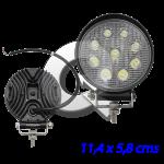 FAENERO REDONDO 9 LED, 10V-60V, 27W, 1800Lm