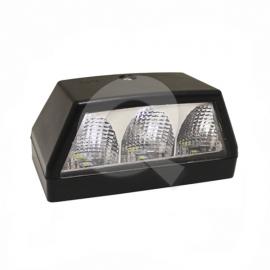 FAROL PATENTE BIVOLTAJE 3 LED, 10,5 x 6cms