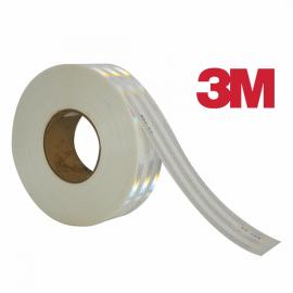 CINTA REFLECTANTE BLANCA DE 2',  3M , POR METRO
