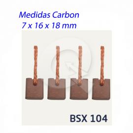 CARBON ARRANQUE BOSCH 12V,V16 T/ROJA,SENTRA,PICK-U