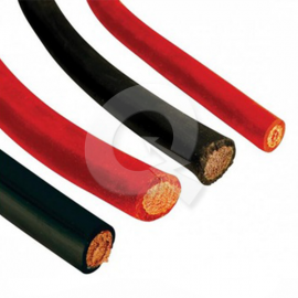 CABLE BATERIA Nº3,Ø5.8mm,42A,NEGRO