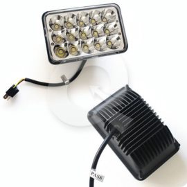 FAROL RECTANGULAR CHICO,9-32V,15 LED,2700Lm, 4652