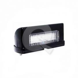 FAROL PATENTE BIVOLTAJE, 6 LED, 80x29x30mm, NEGRO