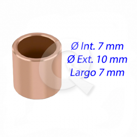 BUJE BRONCE ARRANQUE, N° 1015,  7x10x7 mm