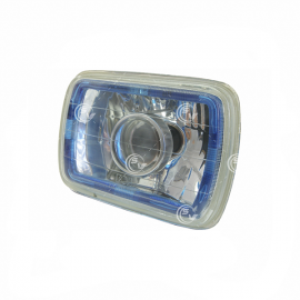OPTICO RECTANGULAR GRANDE,PRISMATICO C/LED AZUL