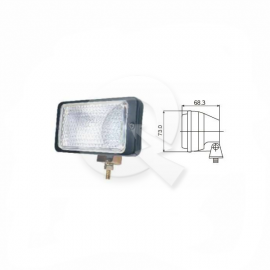 FAENERO,RECTANGULAR,H3,12V 55W,146x73mm,GRUAS