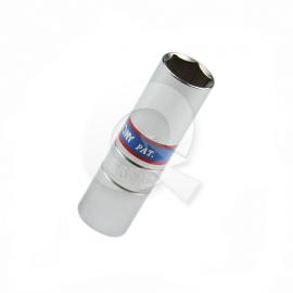 DADO BUJIA HEXAGONAL 1/2' x 16mm, C/GOMA