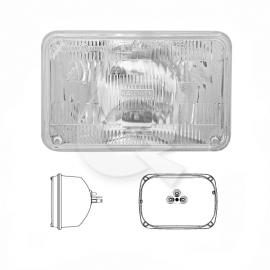 SILVIN HALOGENO RECT.12V 60/55W, 16.2x12 cms, 3C