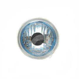 OPTICO REDONDO CHICO PRISMATICO,C/LED AZUL,12V