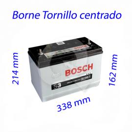 BATERIA BOSCH 100A 720CCA,338x162x214,P/CENTRO