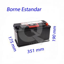 BATERIA LUCAS 100A (+D)(850CCA) 351x175x190,BN