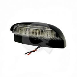 FAROL PATENTE BIVOLTAJE, 4 LED, 7x4 cms