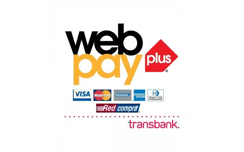 Paga con WebPay Plus!
